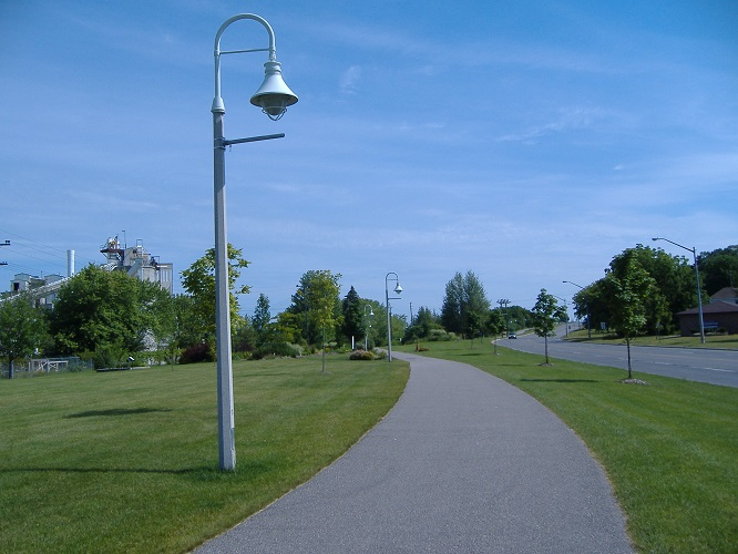 Rotary Trail Along Harbourside